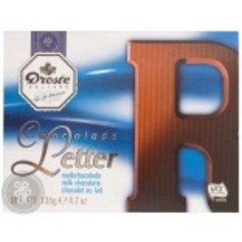 Droste Large R Milk Chocolate Letter - 4.7 OZ