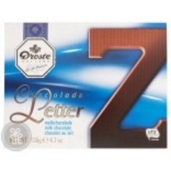 Droste Large Z Milk Chocolate Letter - 4.7 OZ