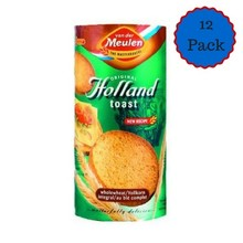 Vander Meulen Wholewheat Rusk 12 Roll