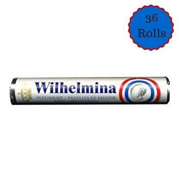 Wilhelmina Peppermint Roll 36 Ct box