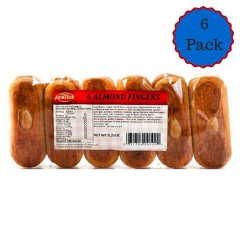 Aviateur Almond Fingers 6 Pack