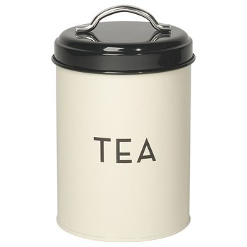 Now Designs Ivory Storage Tin - Tea