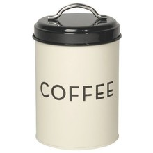 Now Designs Coffee Tin Ivory