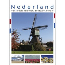 Pictures of Holland Birthday Calendar 13x17.3 Reg $16.95