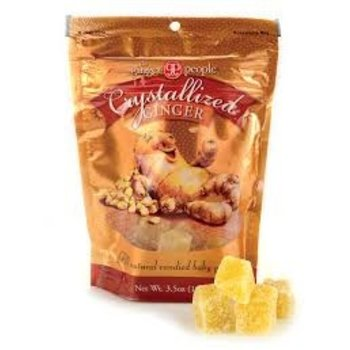 Ginger People Crystallized Ginger Candy - 3.5 Oz Bag
