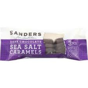 Sanders Dark Chocolate Sea Salt Caramels 3 Pack - 1.5 oz