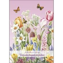 Janneke Brinkman Spring Flowers Birthday Calendar 9.8x7