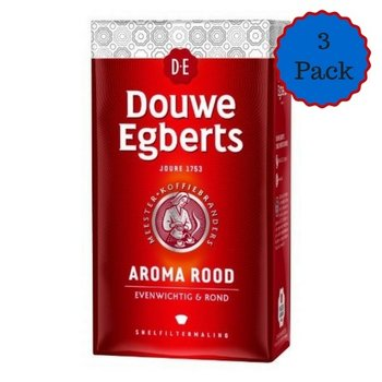 Douwe Egberts Aroma Coffee Rood 17.6 Oz 3 PAK