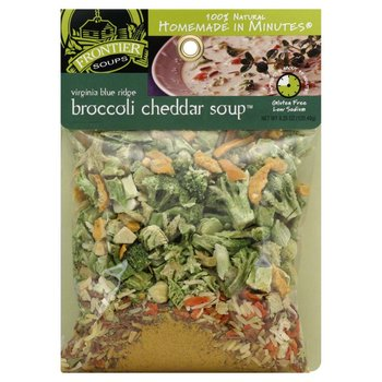 Frontier Soups Virginia Blue Ridge Broccoli Cheddar Soup Mix 4 OZ
