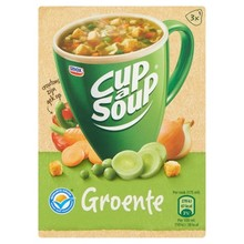 Unox Instant Groente Cup a Soup 3 packets - 2.6 OZ