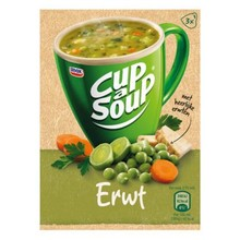 Unox Instant Pea Cup a Soup 3 packets