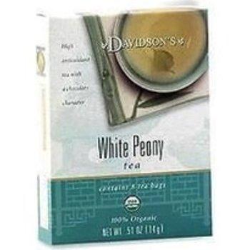 Davidsons DT White Peony Tea 8 ct
