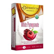 Davidsons DT White Pomegranate Tea 8Ct
