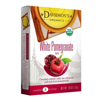 Davidsons DT White Pomegranate Tea 8Ct