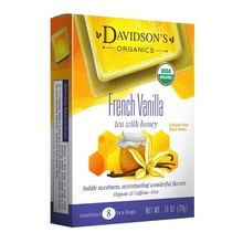 Davidsons DT French Vanilla Tea with Honey 8ct