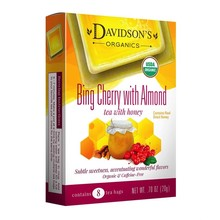 Davidsons DT Bing Cherry w/Almond Tea 8 ct