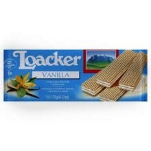 Loacker Vanilla Wafers - 6.17 Oz