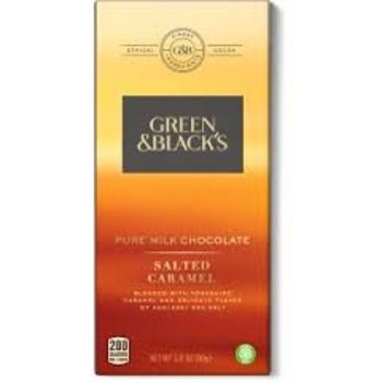 Green & Black Pure Milk Chocolate Salted Caramel - 3.17 Oz Bar