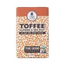 Taza Chocolate Almond & Sea Salt in 60% Dark Chocolate - 2.5 Oz Bar