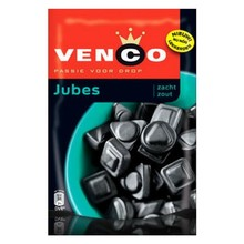 Venco Licorice Jubes Soft Salt 8 oz bag