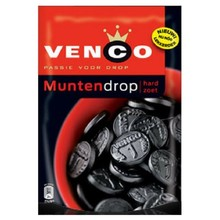 Venco Licorice Coins Stand Up Bag - 8.2 OZ