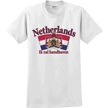 Innovative Ideas Inc Netherlands Arched Logo T-Shirt  XL - EACH