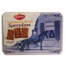 Hellema Delft Mini Tin Speculaas - 4.7 OZ