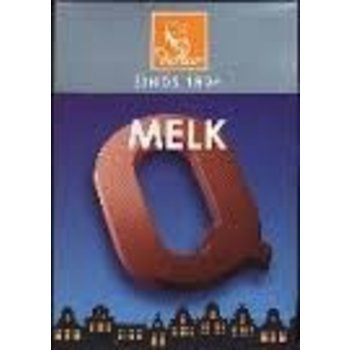 De Heer Milk Q Small Letter, - 2.27OZ