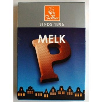 De Heer Milk P Small Letter - 2.27 OZ