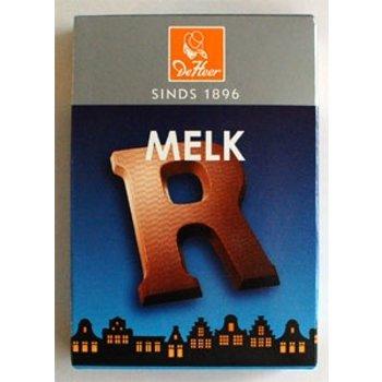 De Heer Milk R Small Letter - 2.27 OZ