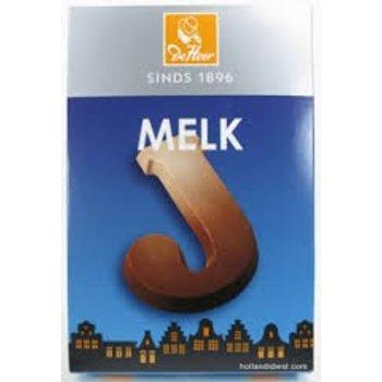 De Heer Milk J Small Letter - 2.27 OZ