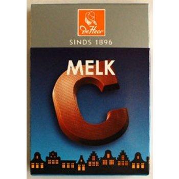 De Heer Milk C Small Letter, - 2.27 OZ