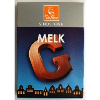 De Heer Milk G Small Letter - 2.27 OZ
