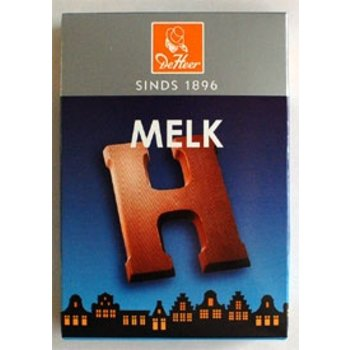 De Heer Milk H Small Letter - 2.27 OZ