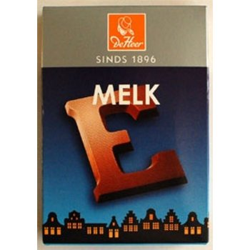 De Heer Milk E Small Letter, - 2.27 OZ