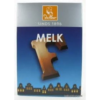 De Heer Milk F Small Letter - 2.27 OZ