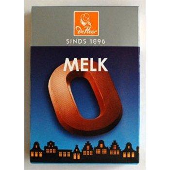 De Heer Milk O Small Letter - 2.27 OZ