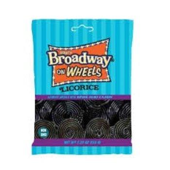 Broadway Licorice Wheels - 5.29 oz bag