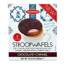 Daelmans Chocolate Caramel Syrupwafer in Box 10.23 oz