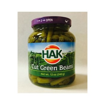 Hak Cut Green Beans - 12 oz Jar