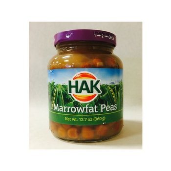 Hak Marrowfat Peas Kapucijners - 12.6 oz Jar