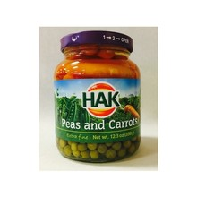 Hak Peas & Carrots - 12.3 oz Jar
