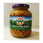 Hak Marrowfat Peas Kapucijners - 25 oz Jar