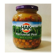 Hak Marrowfat Peas Kapucijners - 25 oz Jar