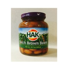 Hak Dutch Brown Beans - 12.6 oz Jar