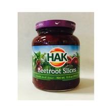 Hak Beetroot Slices 12.5 oz Jar
