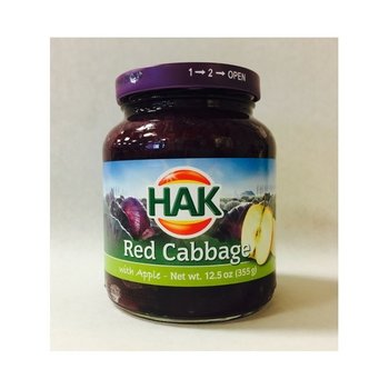 Hak Red Cabbage with Apples - 12.5 oz Jar