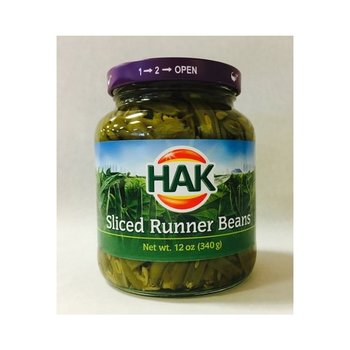 Hak Sliced Green Beans - 12 oz Jar