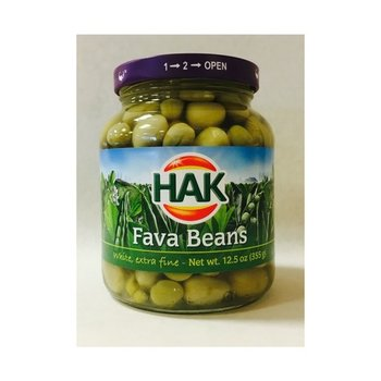 Hak Fava Bean Tuinbonen - 13 oz Jar