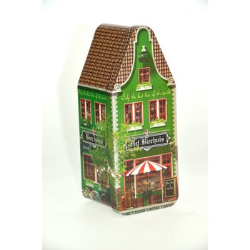 "Peters Bierhuisje Canal house tin - 7.2"" x 3"" x 2.9"" Empty Tin"